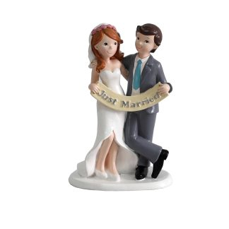 Figuras de tarta para bodas